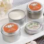 Personalized Born to Be Wild Candle Shower Favors