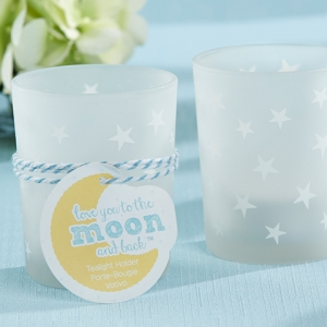 To the Moon & Back Votive Candle Shower Favors (Set of 4) imagerjs