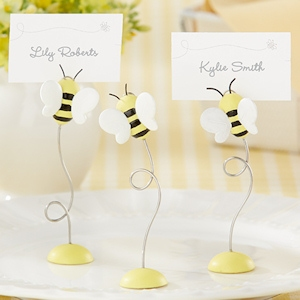 'Sweet as Can Bee' Baby Bee Place Card Holders (Set of 6) imagerjs