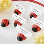 'Cute as a Bug' Ladybug Place Card Holders (Set of 6)