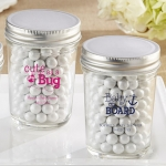Baby Shower Personalized Mason Jar Favors (Set of 12)