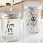 Personalized 'Sweet As Can Bee' Baby Shower Mason Jars