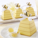 'Sweet as Can Bee' Beehive Favor Boxes (Set of 24)