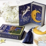 Moon Bookmark in Nursery Rhyme Box