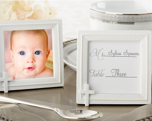 Cross Themed Place Card & Photo Frame Favors imagerjs