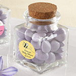 Petite Treat Personalized Baby Favor Jars (Set of 12)