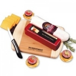 Wisconsin Meat & Cheese Cutting Board Gift