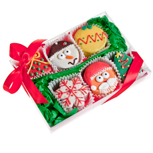 Christmas Brownie Gift Box imagerjs