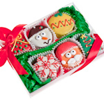 Christmas Brownie Gift Box