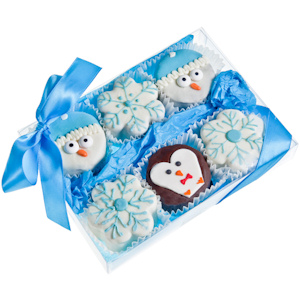 Winter Brownie Gift Box imagerjs