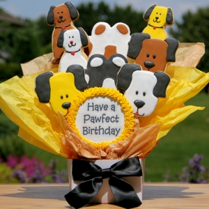 Cookie Bouquet - Pawfect Birthday (Dog) imagerjs