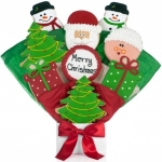 Christmas Cookie Bouquet Gift