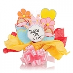 Queen for a Day Iced Cookie Bouquet