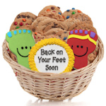 Back on your Feet Cookie Basket