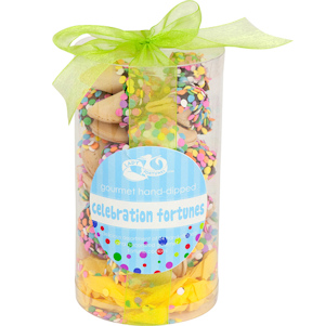 Confetti Fortune Cookie Cylinder - Set of 24 imagerjs