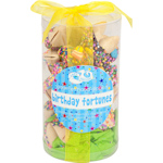 Happy Birthday Fortune Cookie Cylinder - Set of 24