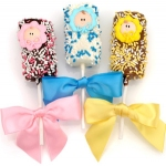 New Baby Chocolate-Dipped Marshmallows Favors