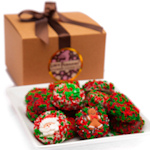 Belgian Chocolate Christmas Oreo Gift Box