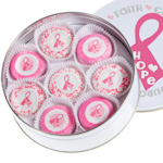 Pink Ribbon Oreo Tin of 16