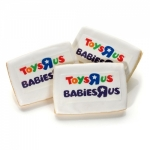 Glazed Rectangle Photo Sugar Cookie Favors