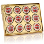 Corporate Logo Oreo Gold Boxed 12 Pack
