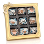 Father's Day Chocolate Dipped Krispie Gift Box