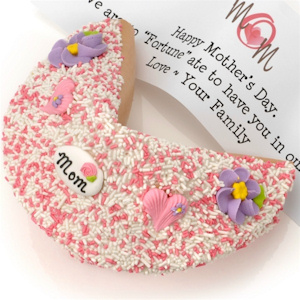 Mother's Day Pastel Giant Fortune Cookie imagerjs