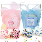 Personalized New Baby Takeout Favor Boxes