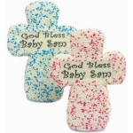 Personalized Cross Sugar Cookies
