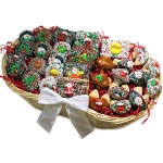 Very Merry Christmas Chocolate Dessert Basket