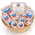 Corporate Cookie Logo Gift Basket