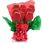 Romantic Red Roses Cookie Bouquet