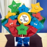 Super Star Congrats Cookie Bouquet