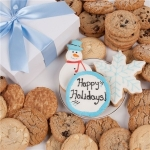 Snowy Wishes Holiday Cookie Box