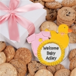 Baby Girl Gourmet Cookie Gift Box