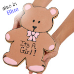 Baby Bear Giant Sugar Cookie Cake