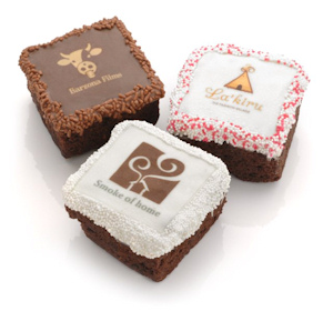 Chocolate Covered Brownie Photo Favors imagerjs