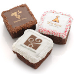 Chocolate Covered Brownie Photo Favors