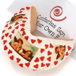 Little Angels Giant Gourmet Fortune Cookie imagerjs