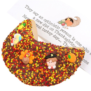Thanksgiving Giant Gourmet Fortune Cookie imagerjs