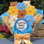 Love You Beary Much Gourmet Cookie Bouquet