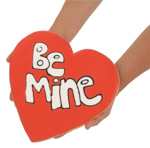 Be Mine Giant Valentine Cookie Cake imagerjs