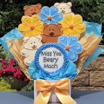 Miss You Beary Much Gourmet Cookie Bouquet