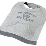 Property of New Parents Bib