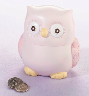 Little Pink Owl Bank Gift imagerjs