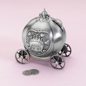 Fairytale Coach Pewter Bank imagerjs