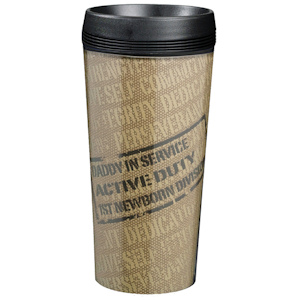 New Daddy Military Design Travel Cup imagerjs