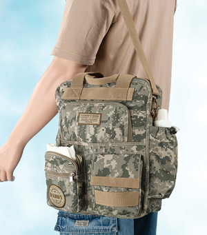 Camouflage Daddy Diaper Bag imagerjs