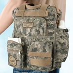 Camouflage Daddy Diaper Bag