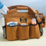 Daddy Duty Baby Project Diaper Bag